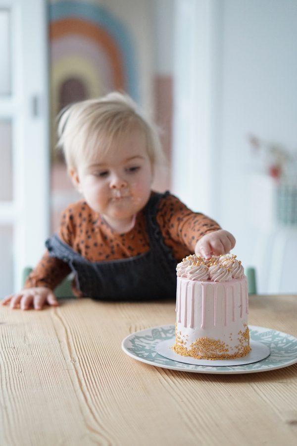 sticky flour taart