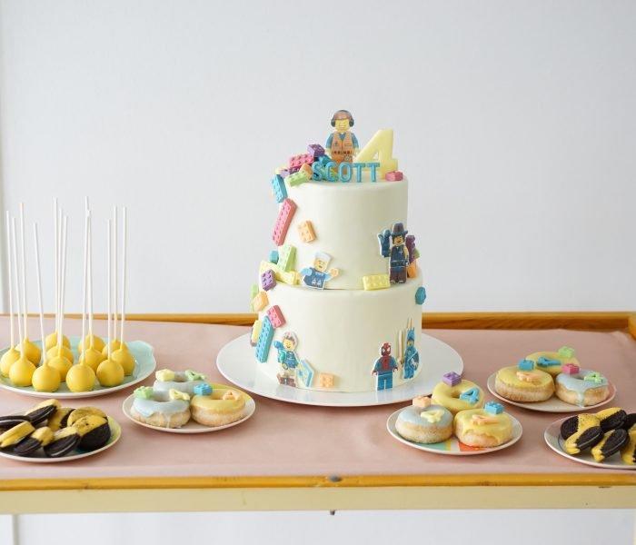 Verjaardag in lego stijl: Scott is vier jaar!
