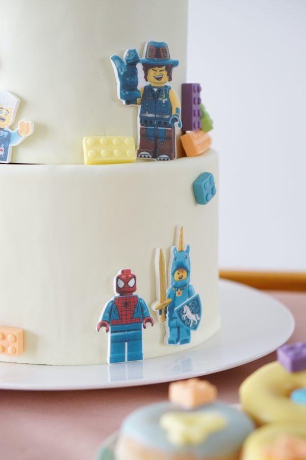 verjaardagstaart lego