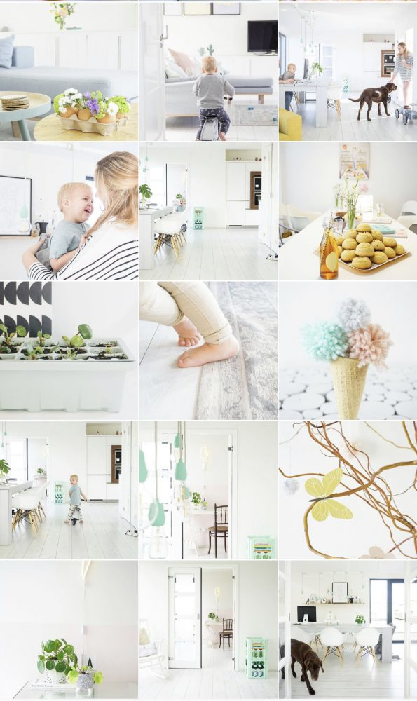instagram interieur pastel