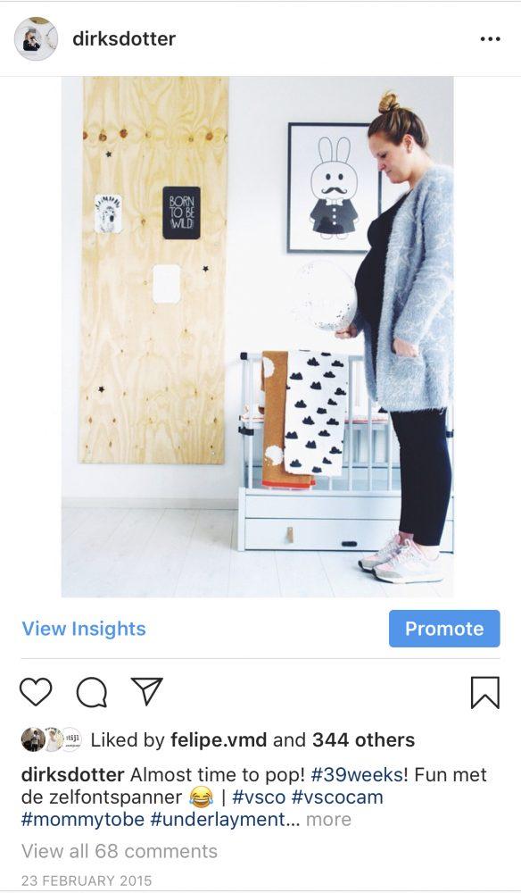 instagram zwanger