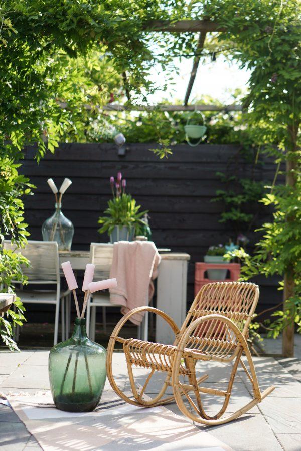 tuin boho stijl
