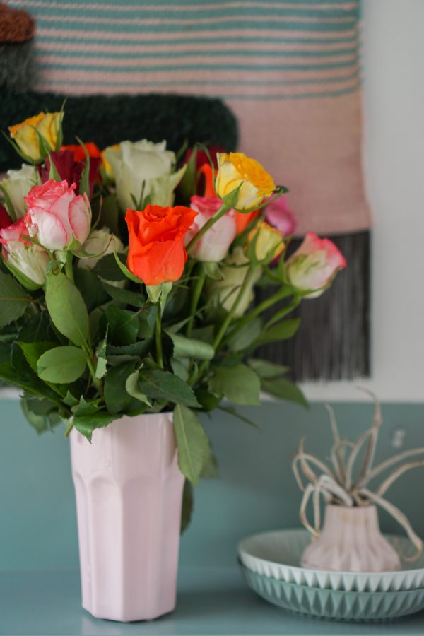 rozen uit supermarkt
