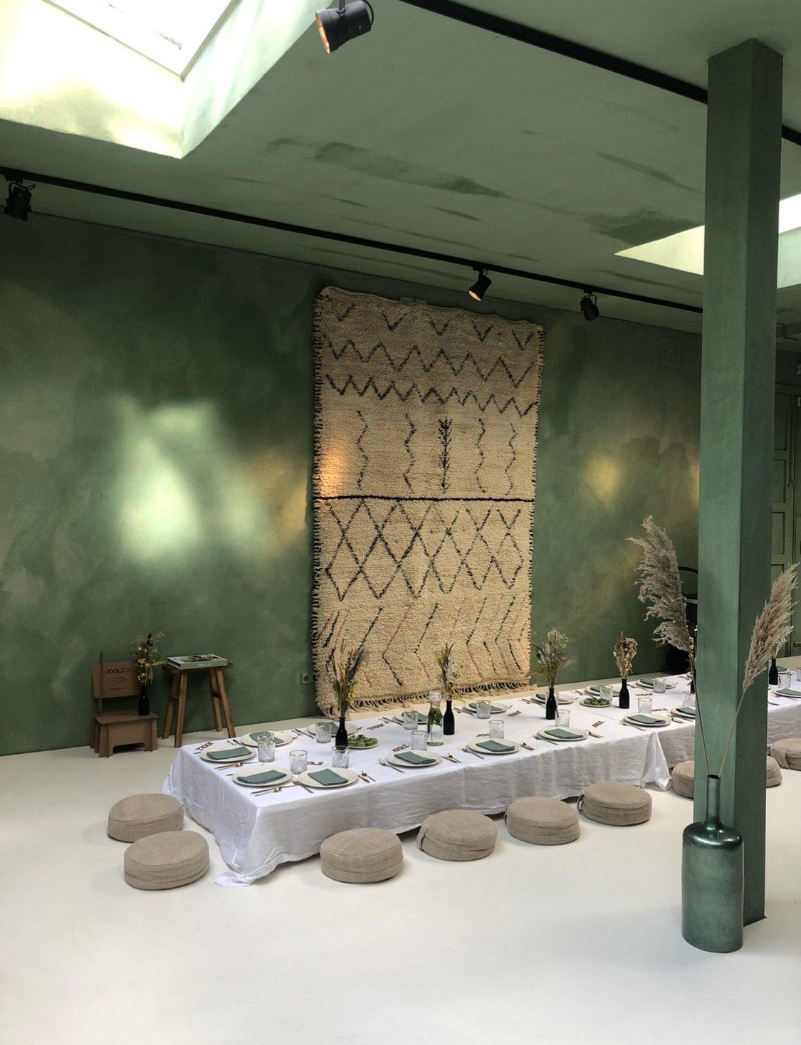 trendkleur groen yoga studio