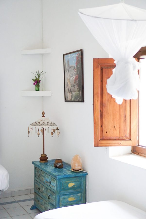 ibiza slaapkamer interieur