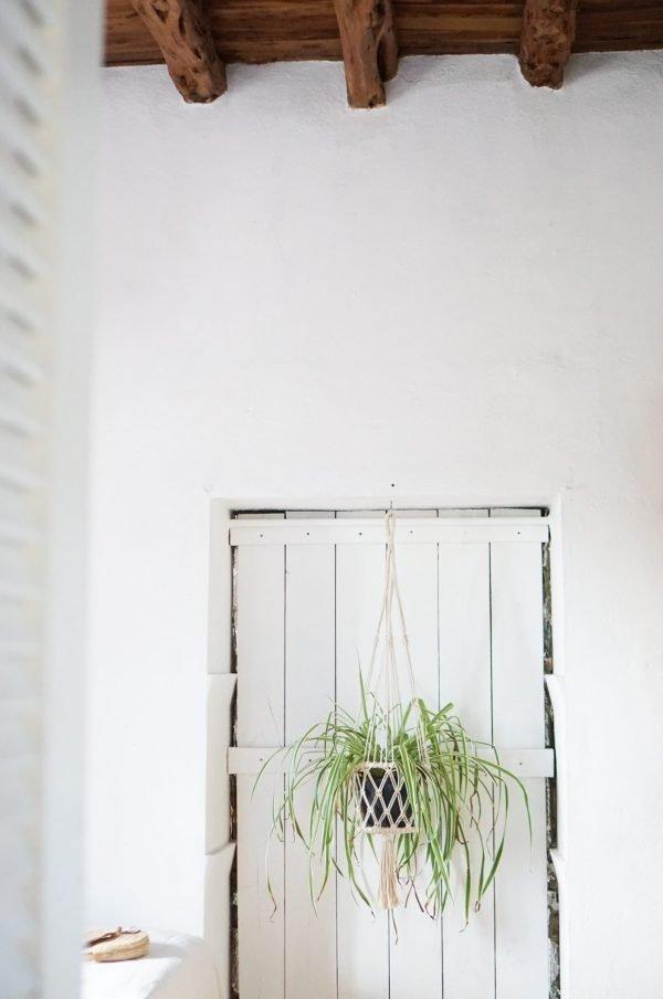macrame plantenhanger ibiza