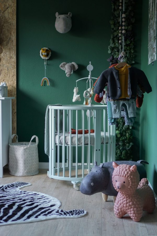 babykamer jungle thema