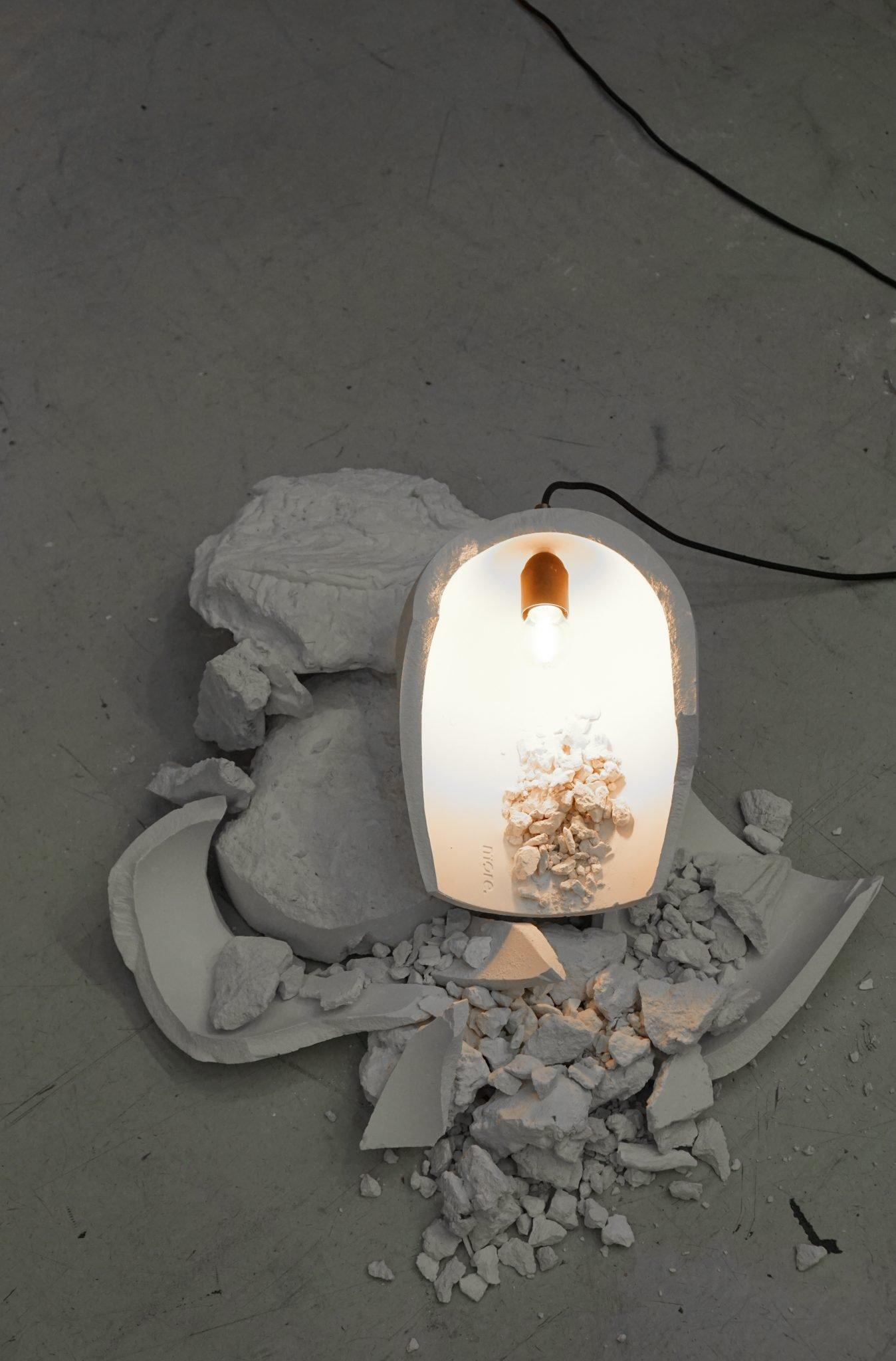 duurzame lamp van recycled materiaal