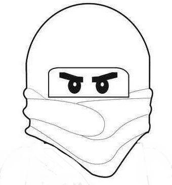 lego ninjago masker lampion