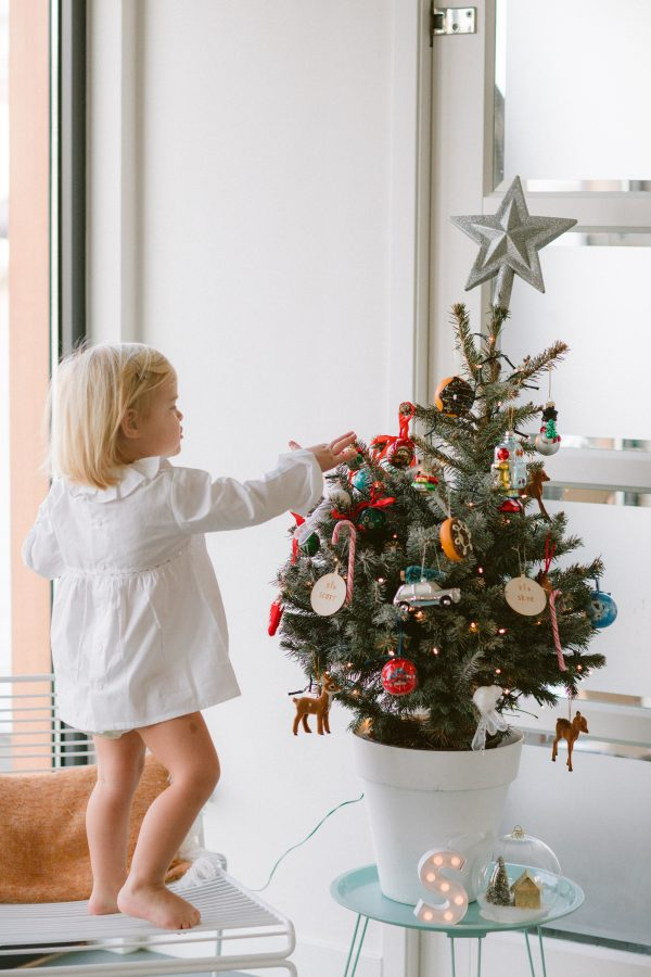 kinder kerstboom