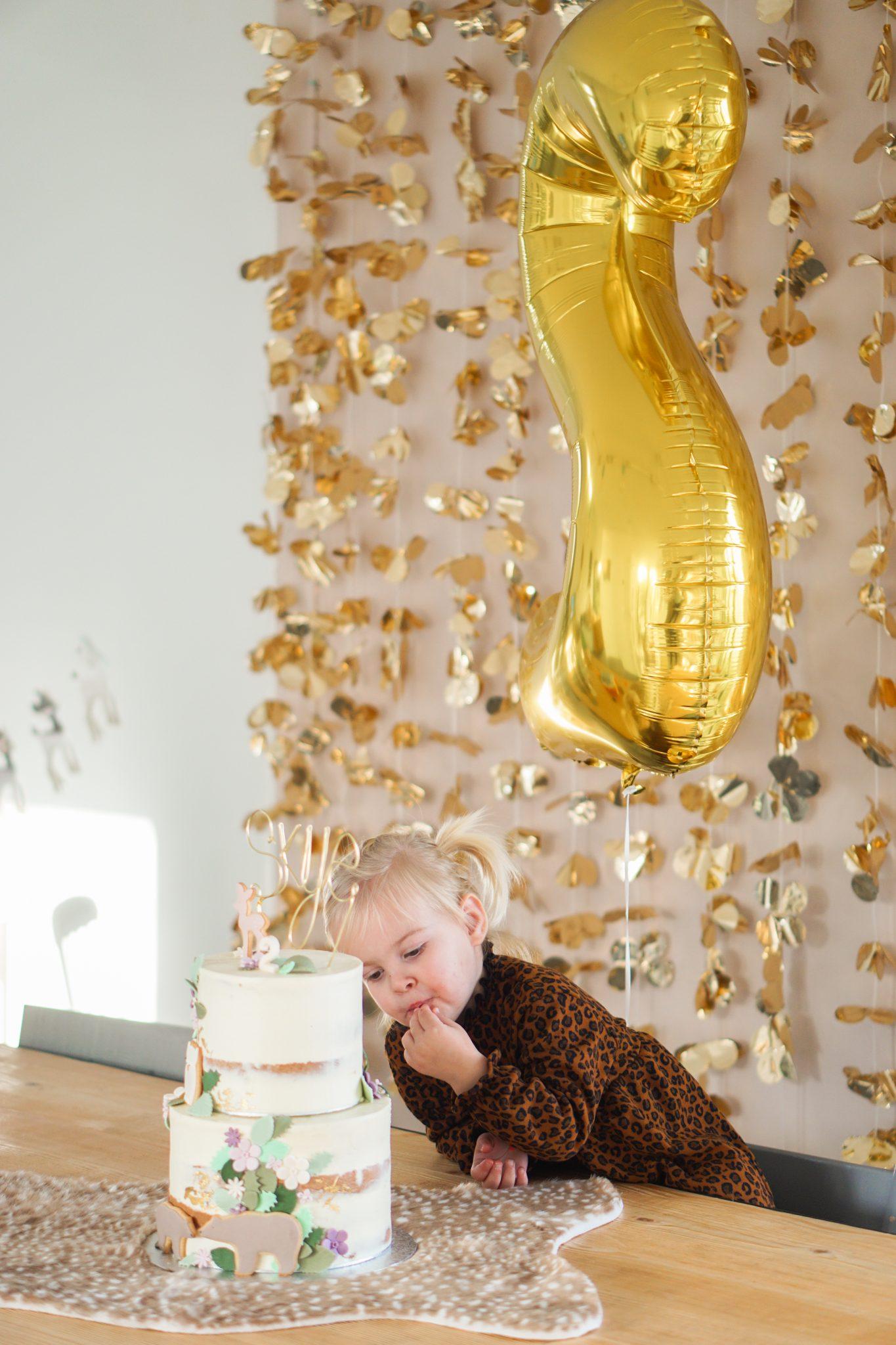 verjaardagstaart peuter