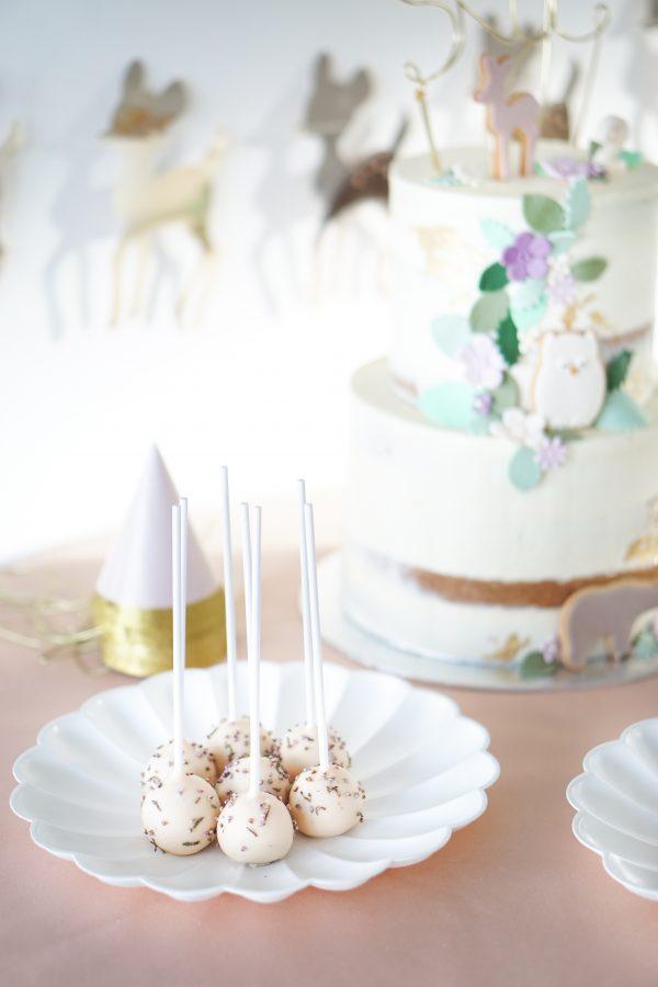 sticky flour cakepops