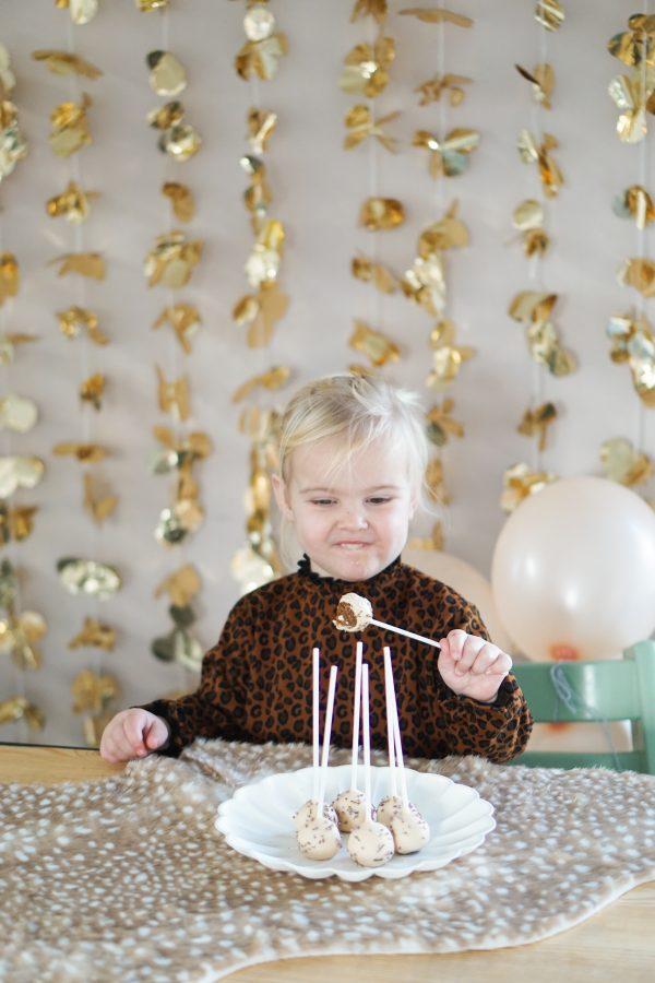 cakepops verjaardag peuter