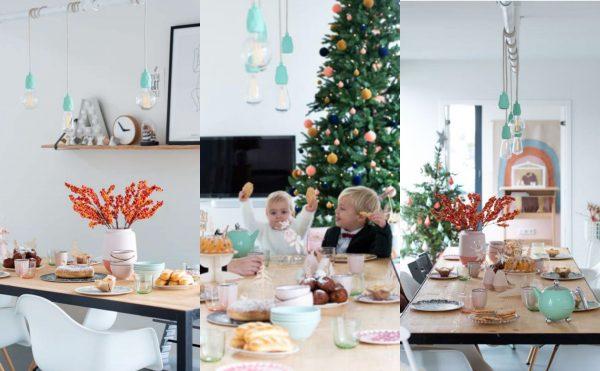 inspiratie tafel dekken kerst