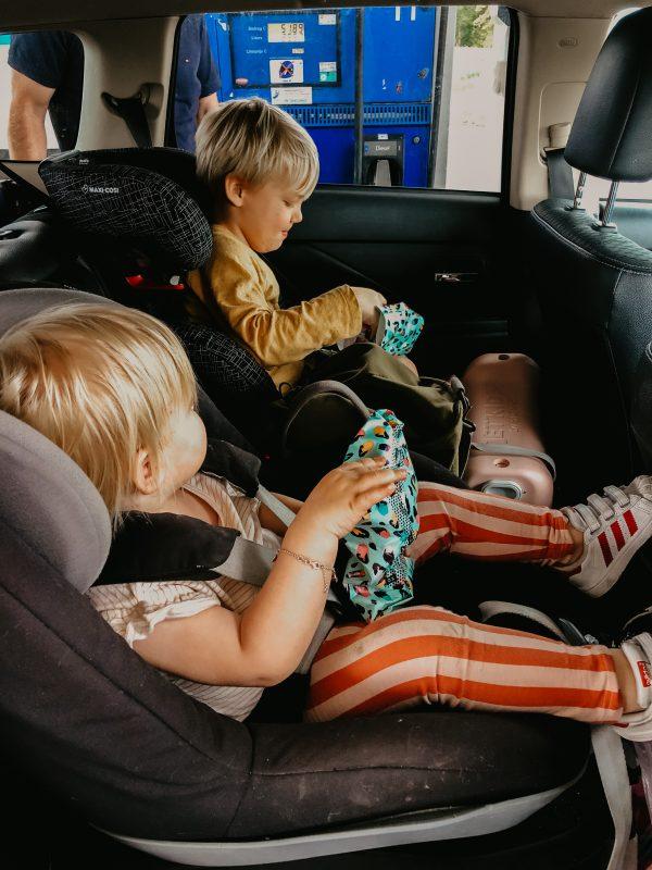 Onderweg vakantie kinderen
