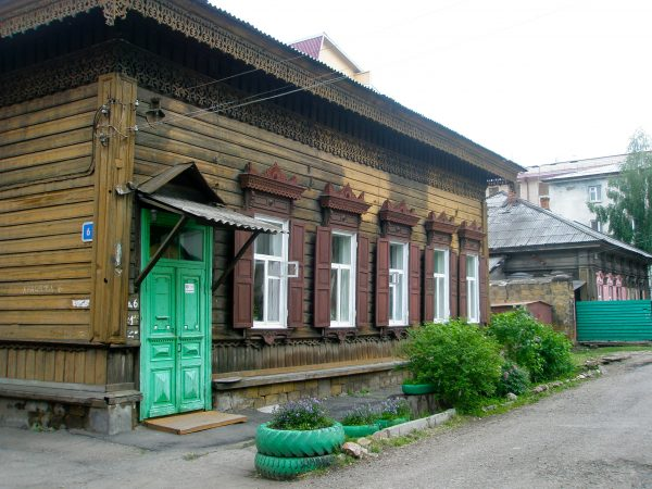wooden house Irkutsk