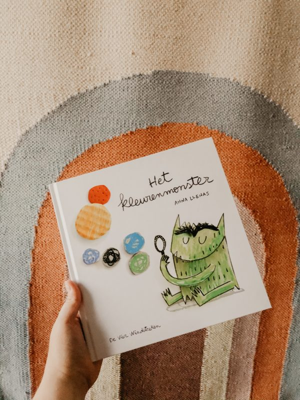 Het Kleurenmonster kinderboek