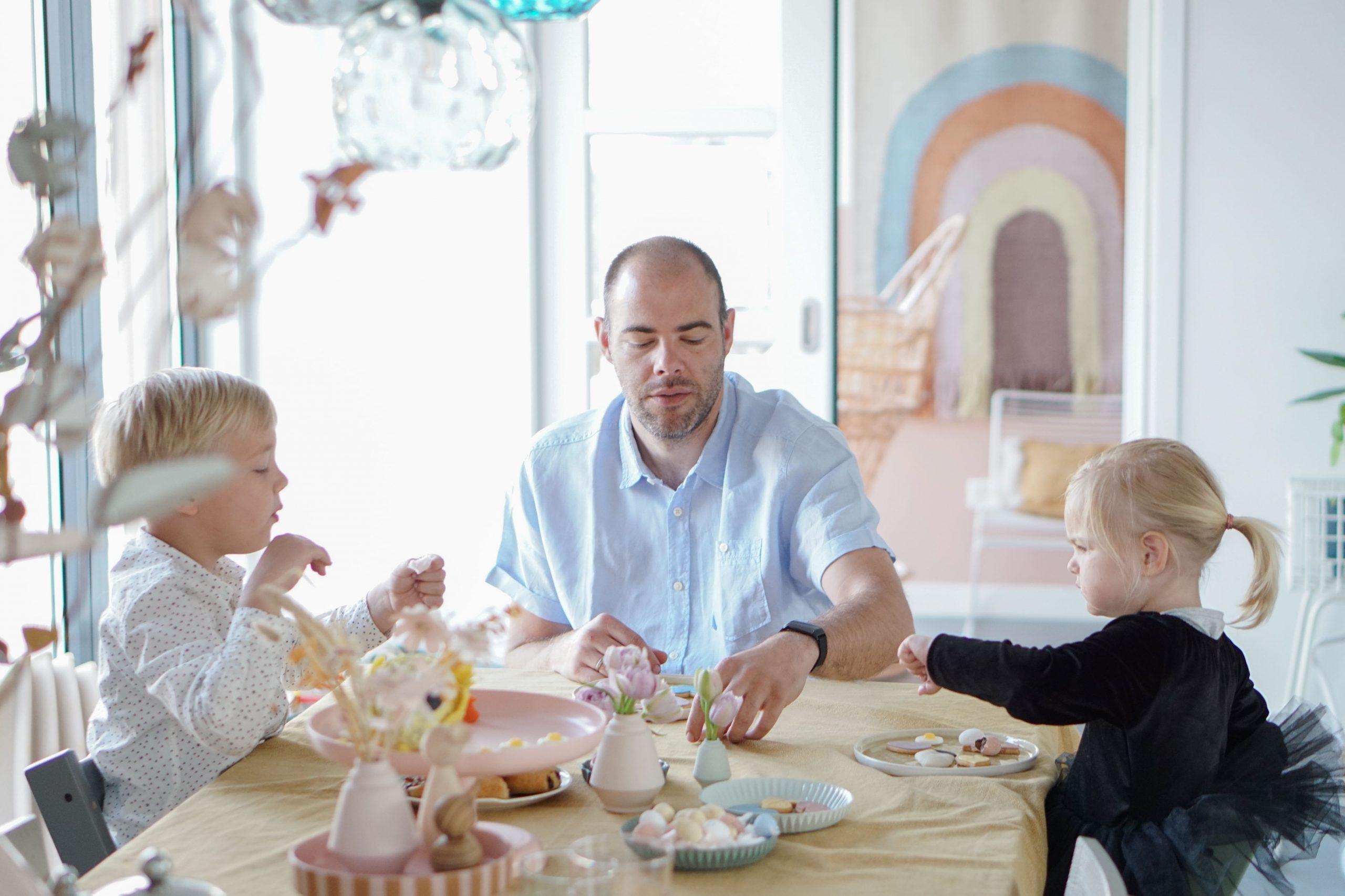 samen ontbijten pasen