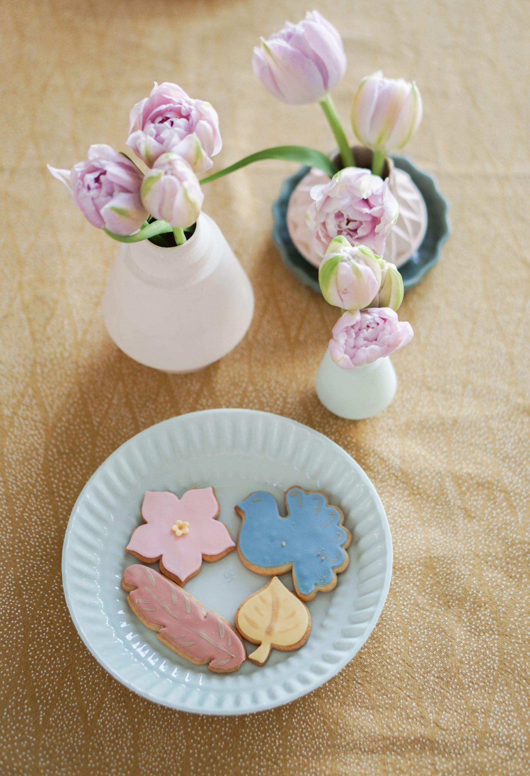 pasen koekjes tulpen