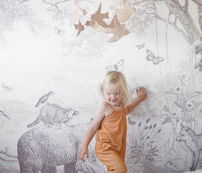 Binnenkijken: Skye's peuterkamer in bosdieren thema!