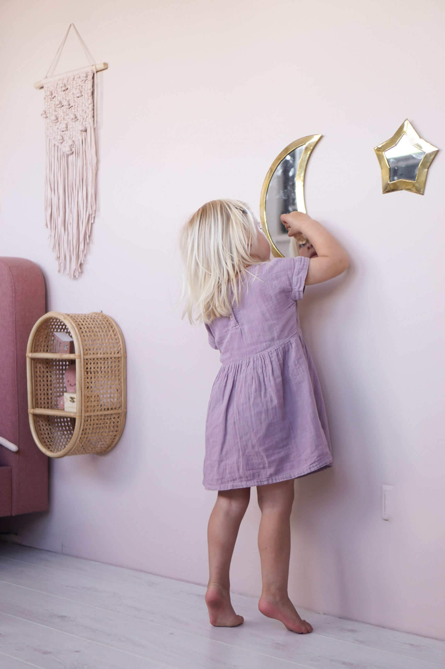 meisjeskamer spiegel
