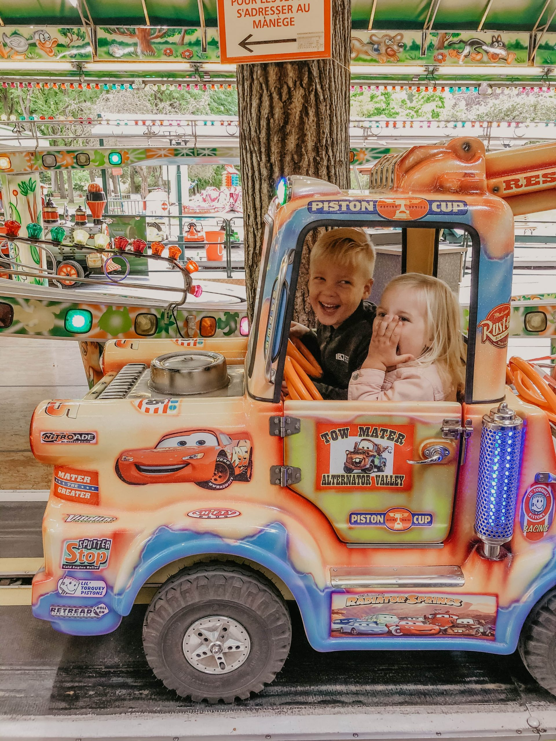 Nancy park kidsproof kermis