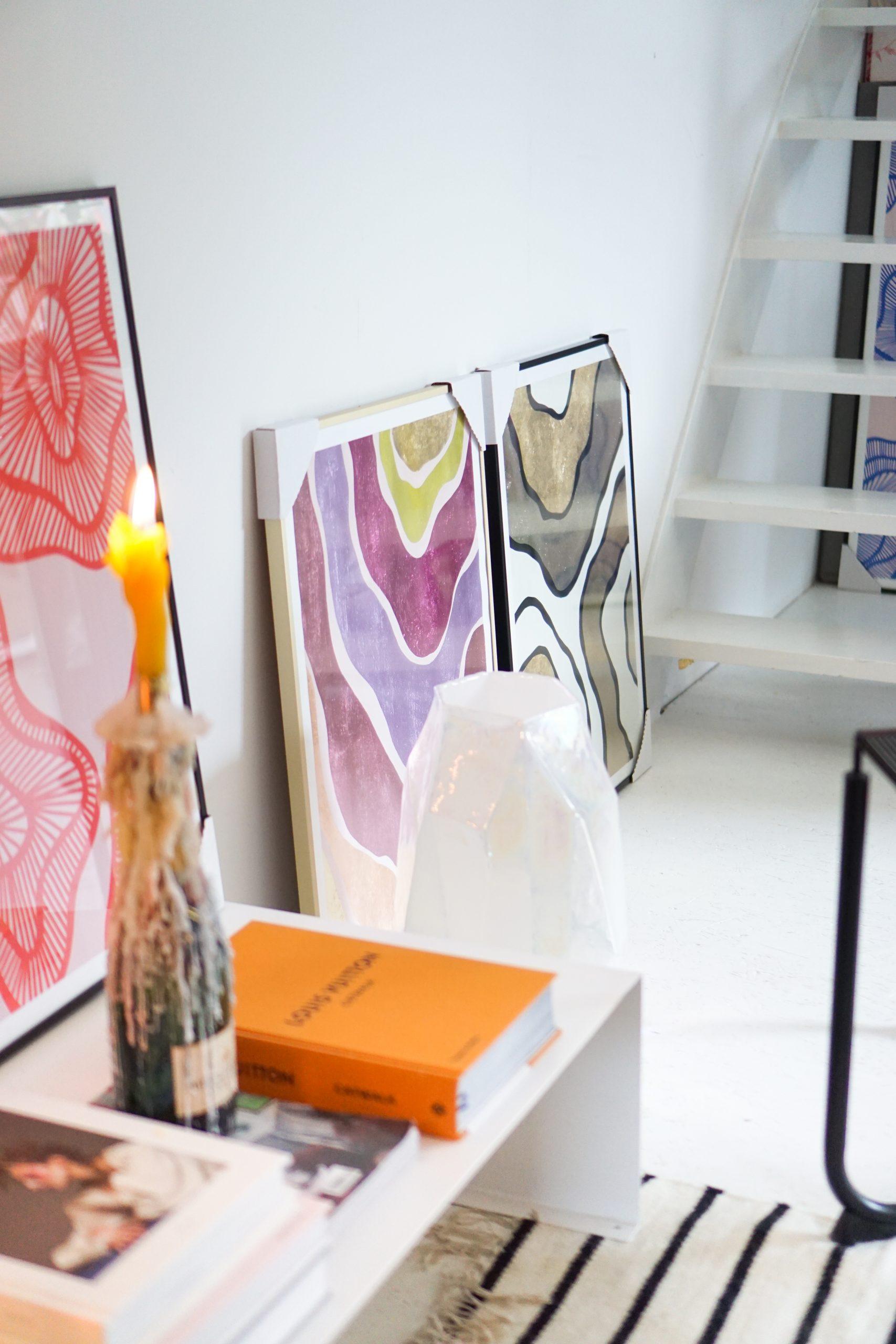 kleurrijke accessoires in huis