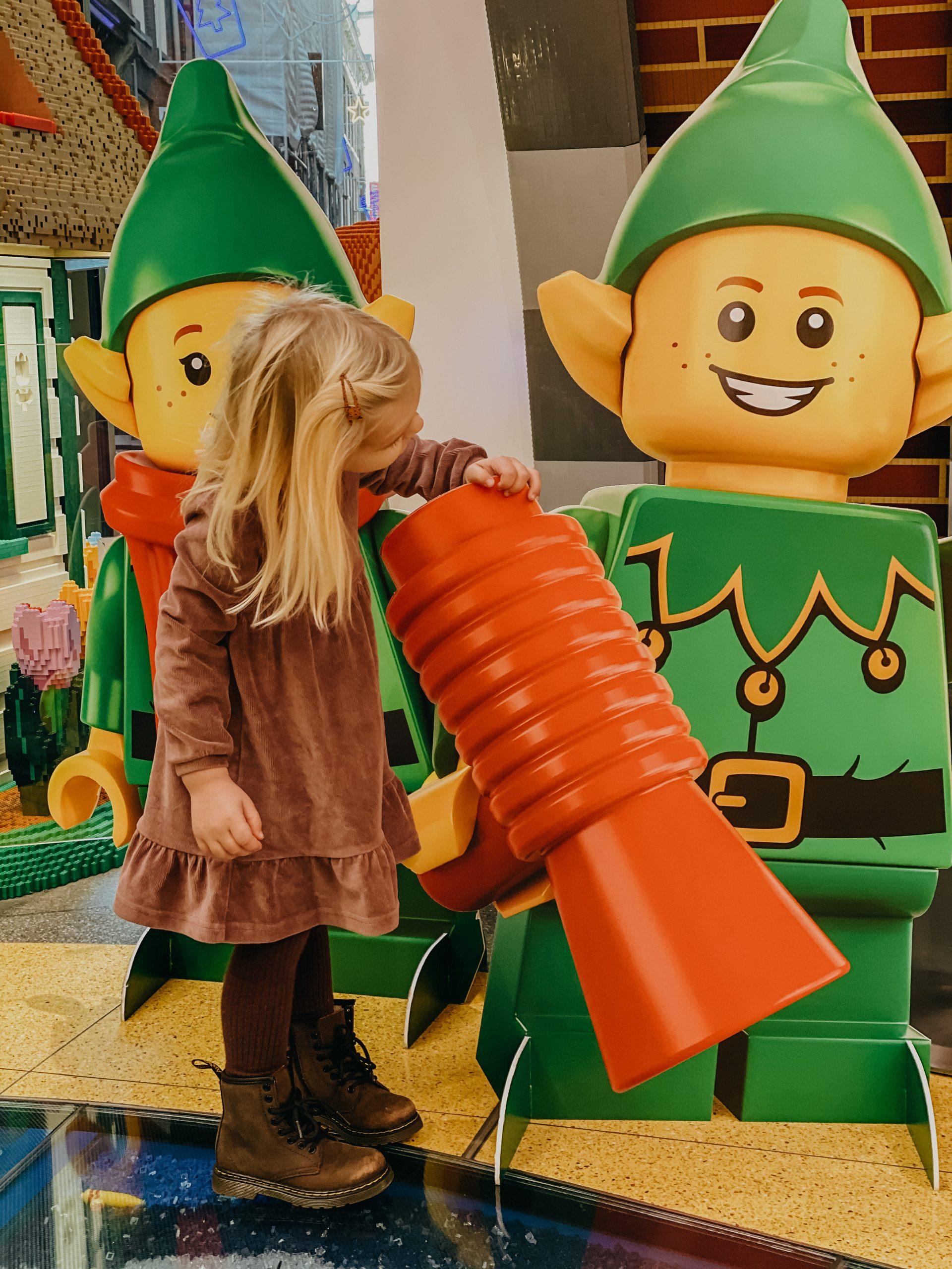 LEGO winkel Amsterdam kerst shoppen kerstvakantie dagje uit gezin