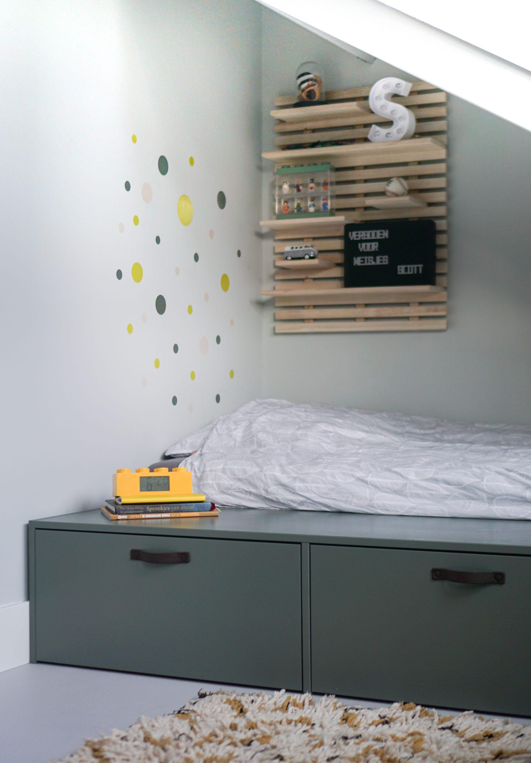 vtwonen stage bed jongens slaapkamer