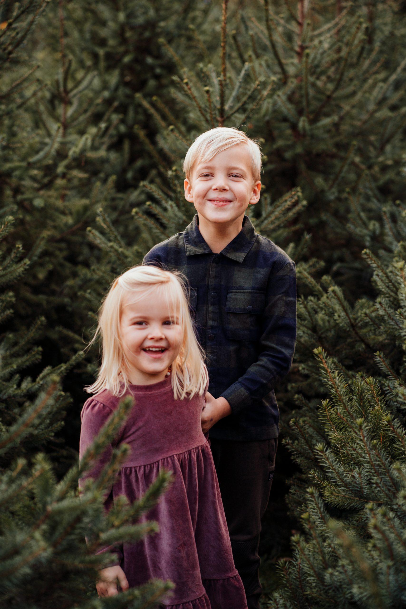 foto broer zus kerst