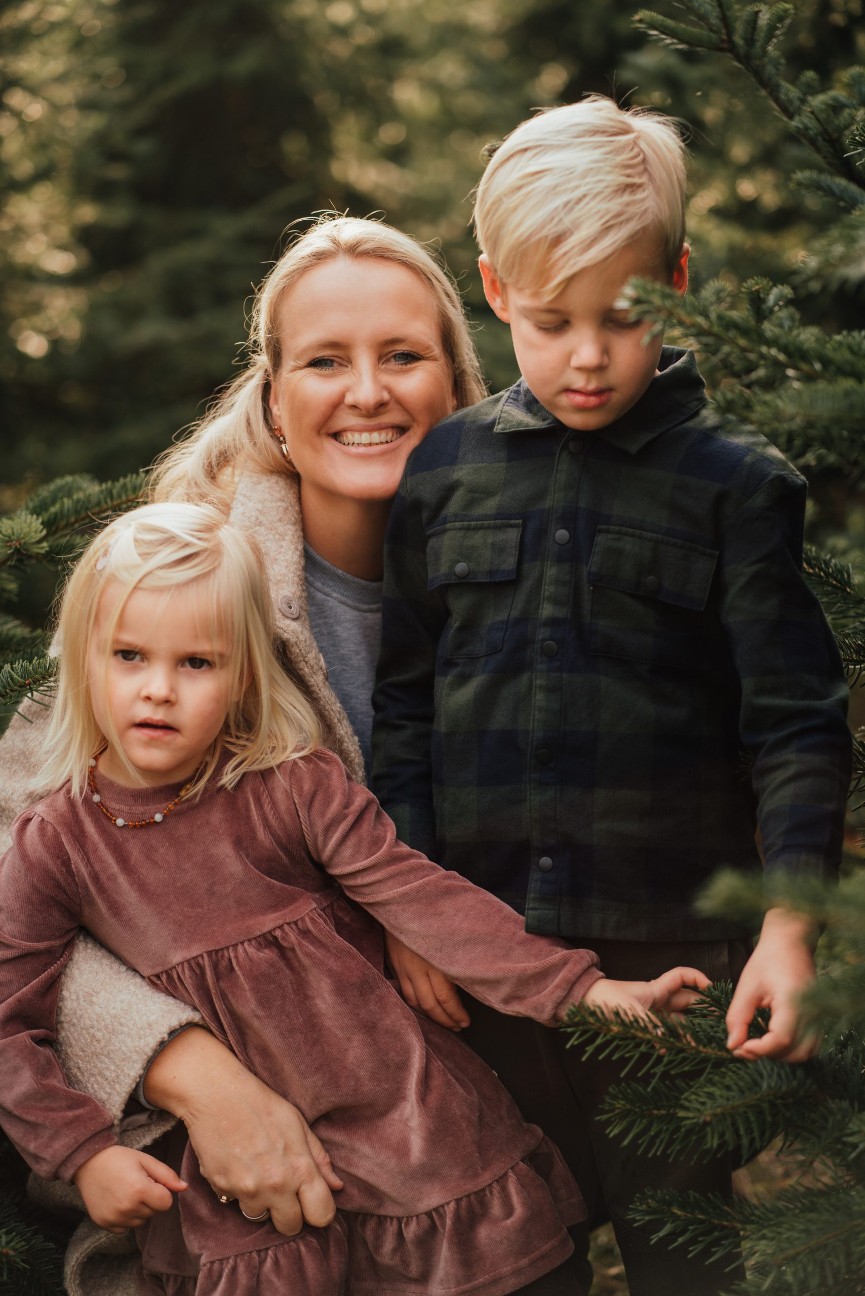 familie fotoshoot winter