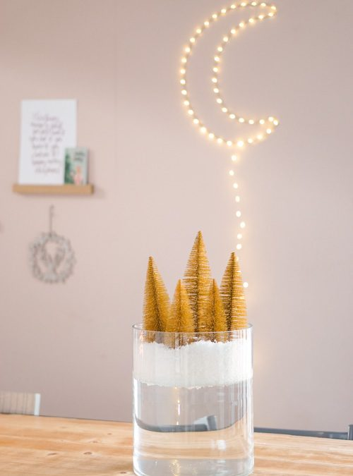 Kerstdorp zelf maken: makkelijke kerst DIY!