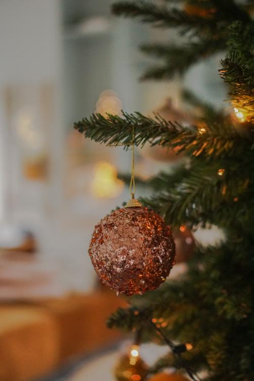 kerst interieur decoratie