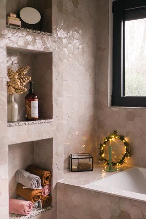 kerst interieur inspiratie badkamer