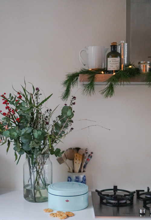 kerst interieur inspiratie keuken