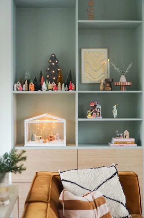 kerst interieur scandiavisch