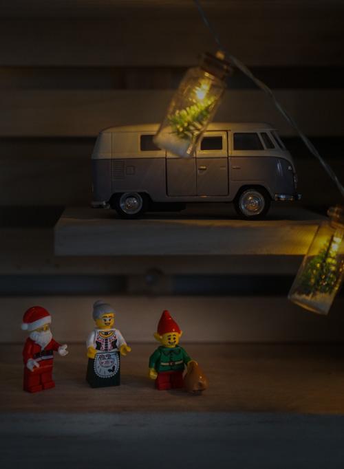 kerst lego poppetjes