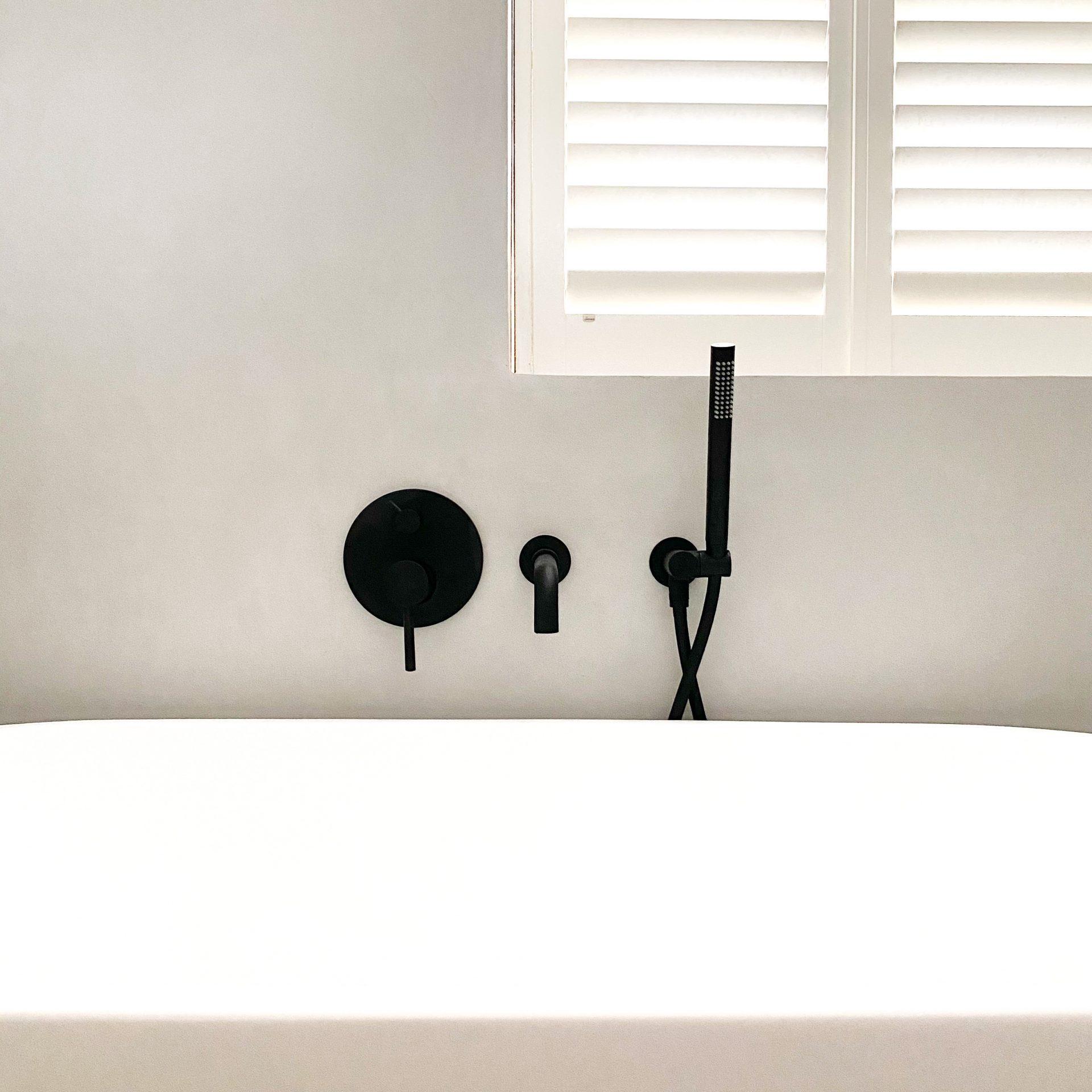 moderne stijlvolle badkamer