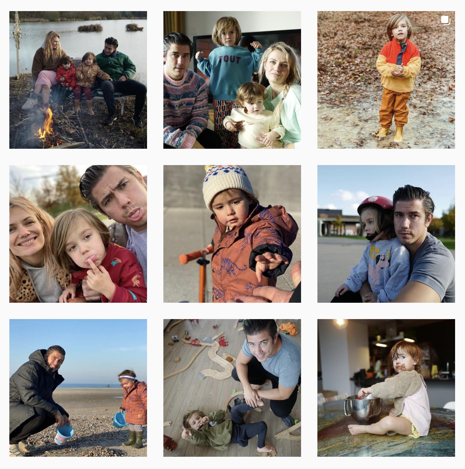 Belgische instagrammers Kristof Hoefkens