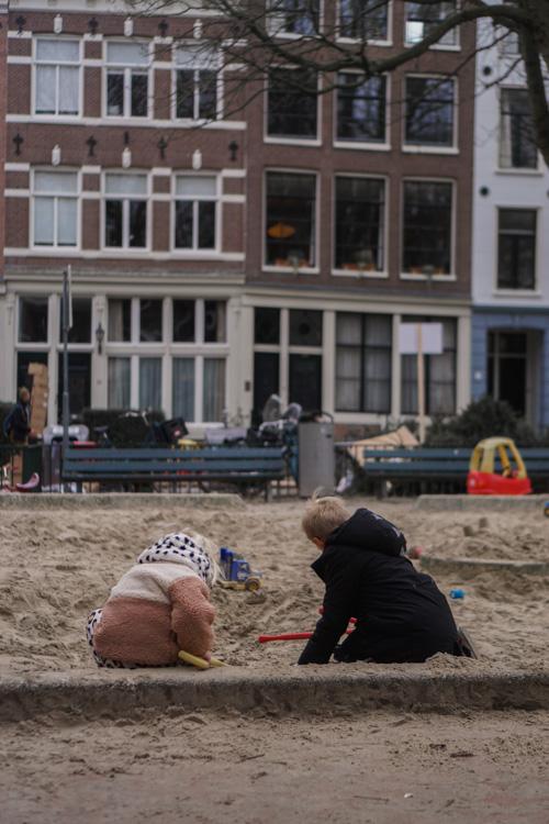 speeltuin herenmarkt amsterdam met kinderen