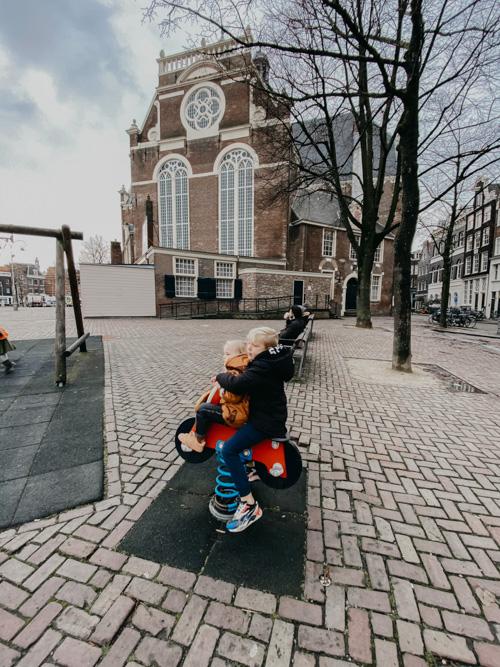 speeltuin noordermarkt amsterdam met kinderen