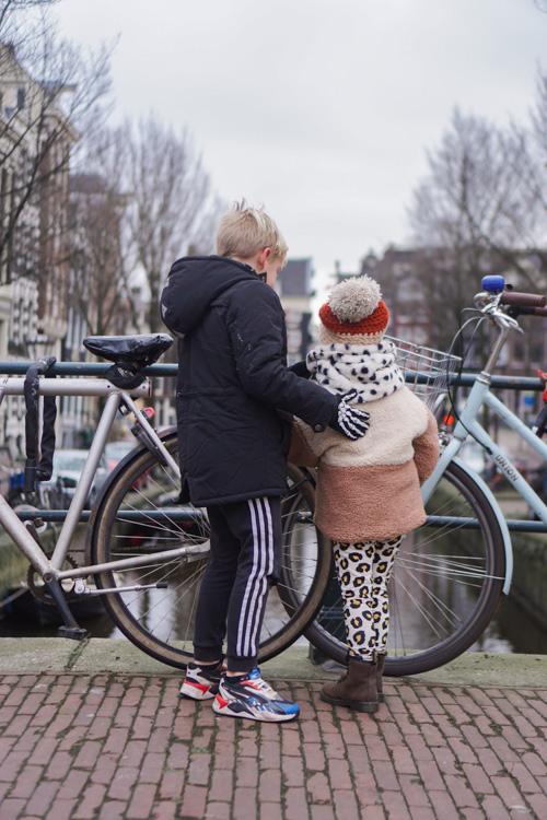 stadswandeling met kinderen lockdown amsterdam 3