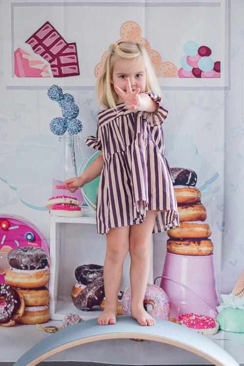 peuterverjaardag in candy storne thema meisje 3 jaar