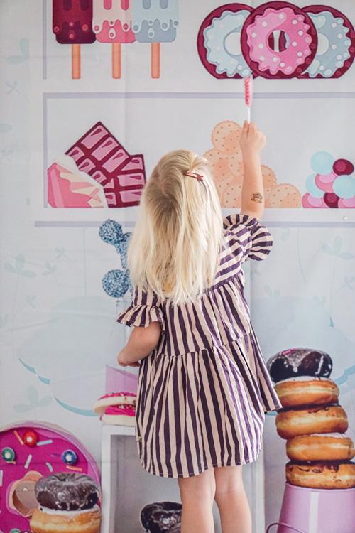 versiering kinderverjaardag candy store