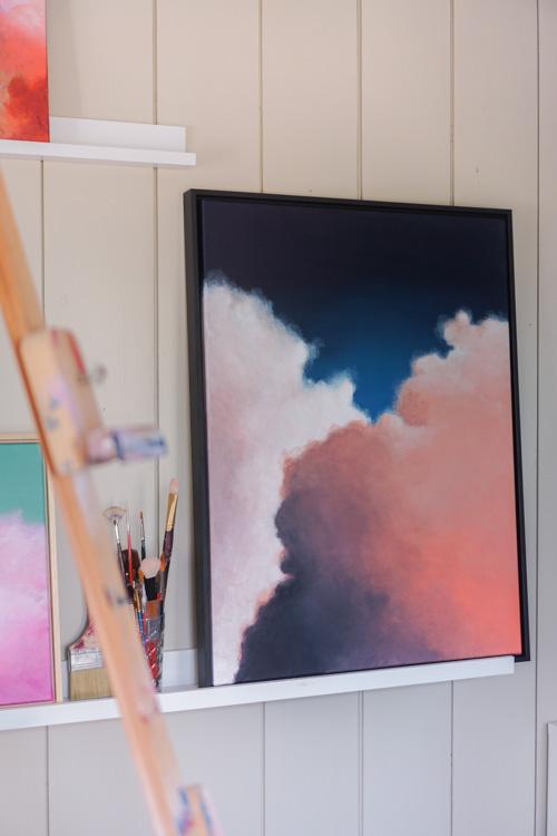 abstracte kunst wolkenschilderij