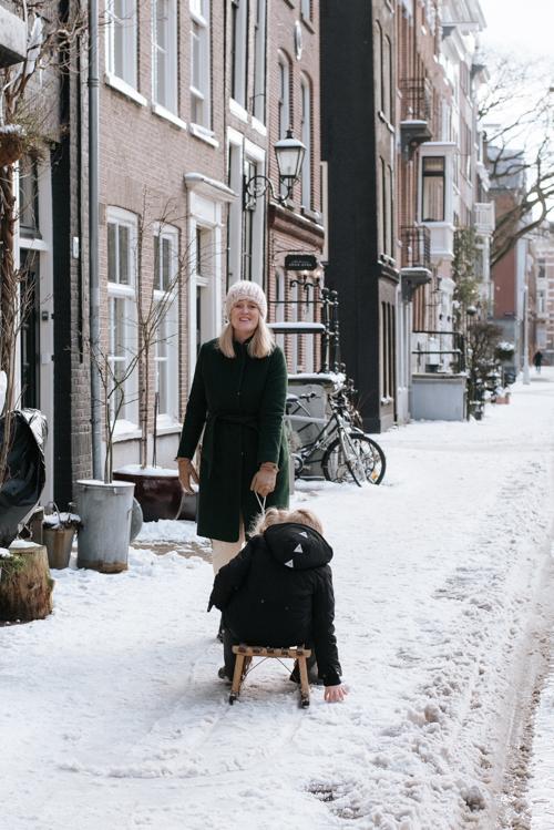 Amsterdam fotoshoot sleetje rijden grachten