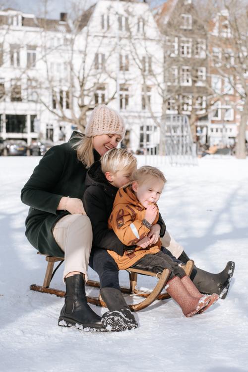 Familie Fotoshoot Amsterdam Amstelveld