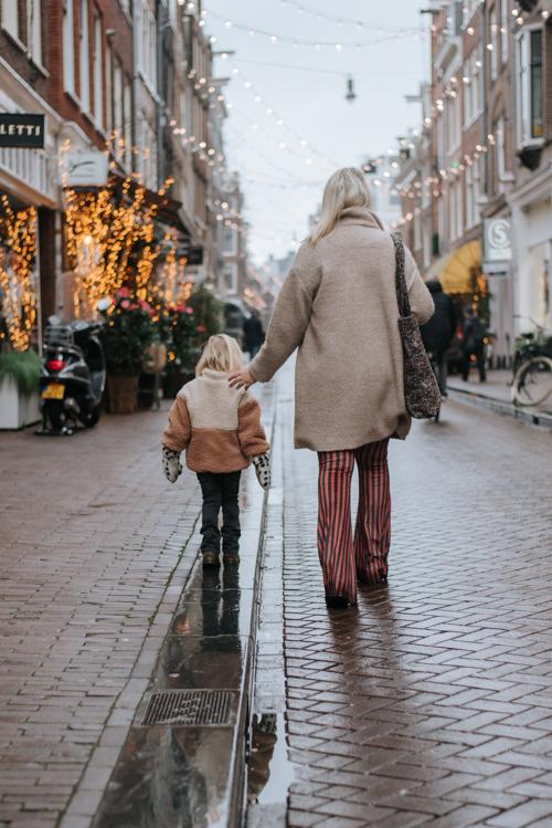 Fotoshoot negen straatjes Amsterdam