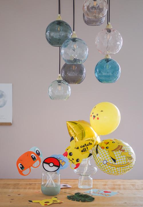 feestversiering kinderverjaardag jongen zes jaar
