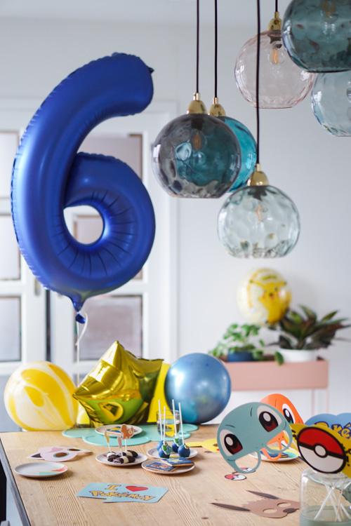 kinderverjaardag pokemon thema 6 jaar